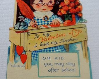 1920s Valentine Made in Germany