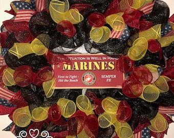 United States Marine Corp Wreath