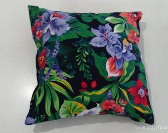 Two Decorative Throw Pillows
