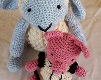 Sheep crochet Amigurumi