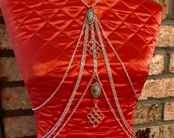 Floating Lotus Body Chain