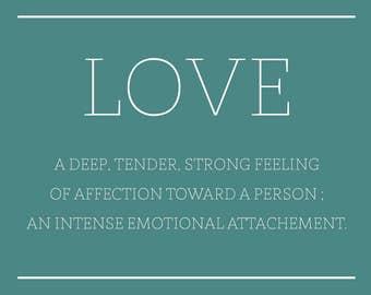 Affiche de Mariage - Bienvenue - LOVE - Personnalisable