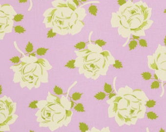 1 Yard Gorgeous HEATHER BAILEY Fabric Lottie Da - COLLECTION Vintage Rose in Pink