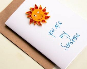Funny anniversary card wedding anniversary greeting marriage anniversary card for him you are my sunshine card happy anniversary card card for husband m4hsunfo