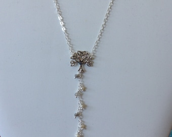 Sterling Celtic Tree Necklace