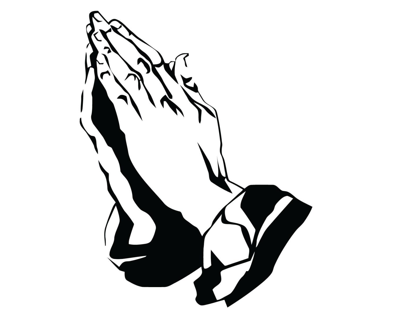 prayer hands symbol clipart library