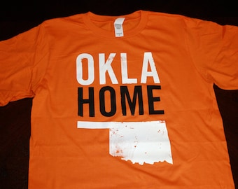 OklaHome T-shirt - Orange (Large)