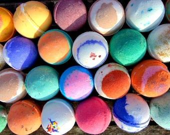 Bath bomb - bath bombs 20 Extra Large 4oz bath bombs, you choose the scents.  Fizzy Bath bomb, lush bath bomb. bath bombs whole sale. gift