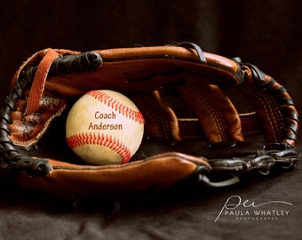 Customized baseball photo, sports decor, coach gift, gift for coach, baseball gift, baseball decor, baseball art, coach present, sport art