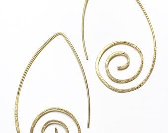 Spirale aus Messing