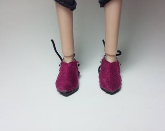 Poppy Parker, Blythe, Barbie, Azone pink/red shoes