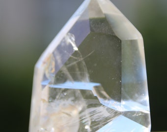 rock crystal point