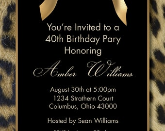 Customized-Birthday Invitation-Digital Printable Download