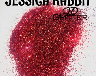 Jessica Rabbit Fine glitter|| 2oz ||