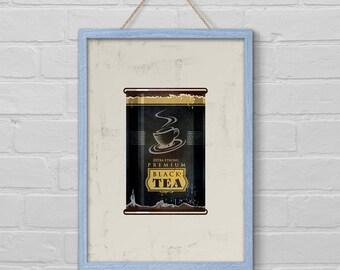 kitchen wall art, kitchen decor art, kitchen art, printable art, kitchen art print, food art, food poster, printable kitchen art