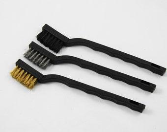 7 Inch Wire Brush 3 Piece Set