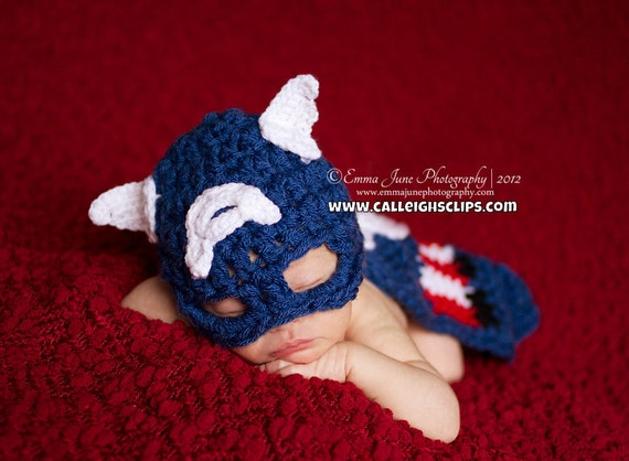 Instant Download Crochet Pattern No 57 American Crusader