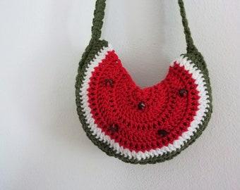 Watermelon little  bag