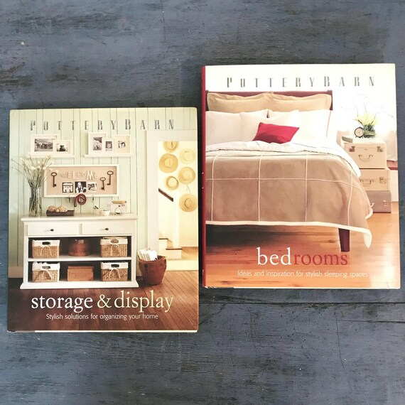 Pottery Barn design books - Bedrooms - Storage and Display - how to interior design library
