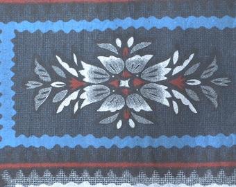 Vintage fabric S175, fabric,supplies,vintage, silk