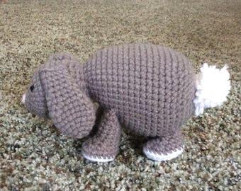 Crochet Bunny Stuffed Animal