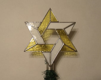 Interfaith Christmas Tree Topper, Decoration for Combined Religions and Blended Families, Large version