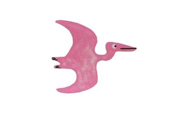 Pterodactyl Dinosaur Bird Iron On Fabric Transfer Applique - 3538