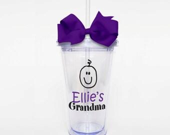 Child's Grandma - Acrylic Tumbler Personalized Cup