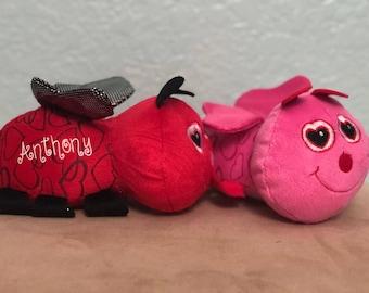 Valentines Bug Plushie