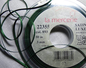 3mm 893 sold by the yard color satin ribbon
