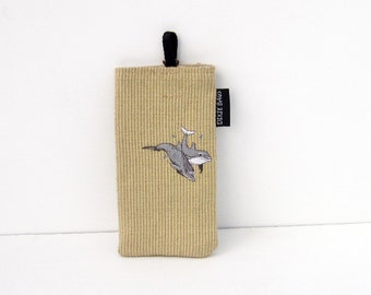 Dolphin Eyeglass Case