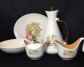 Serving Pieces Set - Taylor Smith Taylor Country Kitchen - 8 pieces