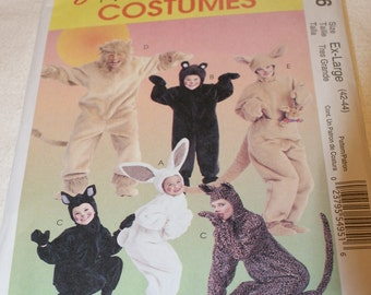 New McCall's Costumes  Pattern M6106 Ex-Large (42-44)