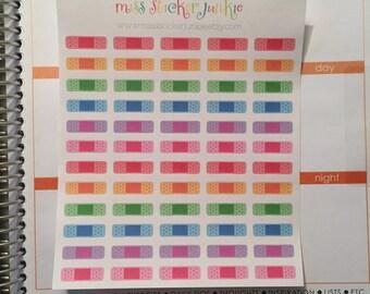 Bandaid Stickers Bandage Stickers for Erin Condren Life Planner Plum Paper Planner Filofax Doctor Hospital