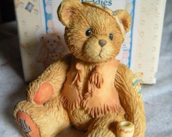 """ENESCO Cherished Teddies - """"Bucky"""" - How I Love Being Friends With You"""