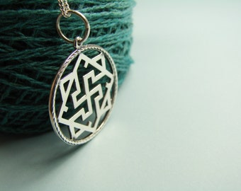 Valkyrie Pendant, Jewelry Pagan, Amulet Slavic, symbol warrior talisman, Slavic Jewelry, viking jewelry, norse jewelry, norse necklace