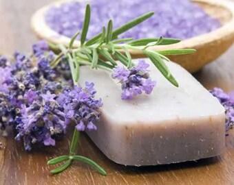 Handmade Organic Lavender Goats Milk Soap