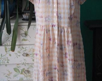 Vintage check M&S dress size 10