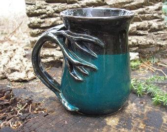 Tasse de sapin pour les amoureux de la nature, capacité de 16 oz, tasse de thé, tasse à café, tasse à la main, tasse préférée, chope de bière, tankard