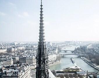 Travel Photography, Paris Photography, Notre Dame, Home Decor, Wall Art, Paris Art