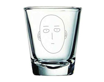 One-Punch Man Shot Glass