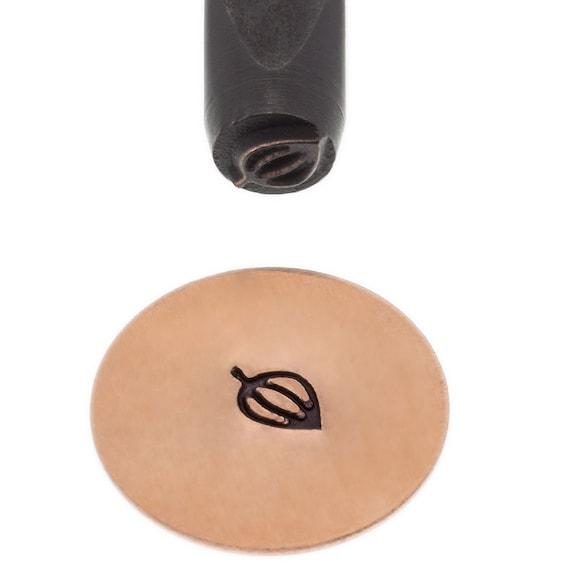 Leaf Design Stamp 5mm Design - Elite Metal Stamp Punch