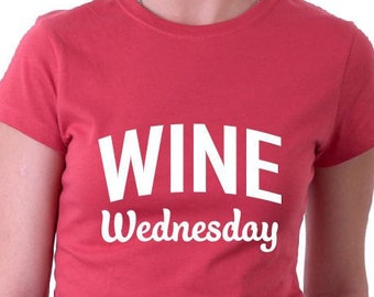 Wine Wednesday TShirt