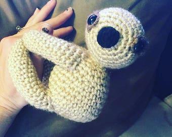 Crochet slot