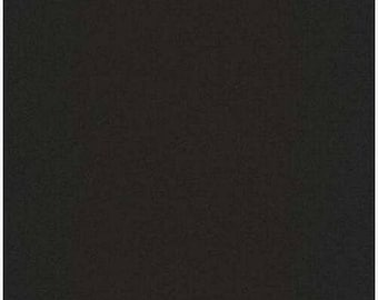1/2 yd Quilters Basic Solid Black by STOF ST4510-900