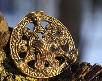 Viking brooch Scandinavia 10 century Barrette Viking jewelry Pin for scarf or shawl sweater clip brooch