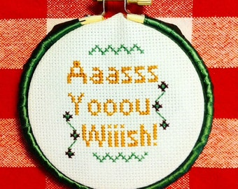 The Princess Bride, cross stitch, movie, quote
