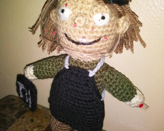 Dexter Morgan-Inspired Crochet Pattern (Pattern only)