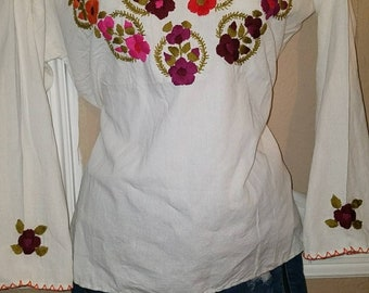 Medium embroidered blouse