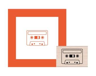 Cassette Rubber Stamp